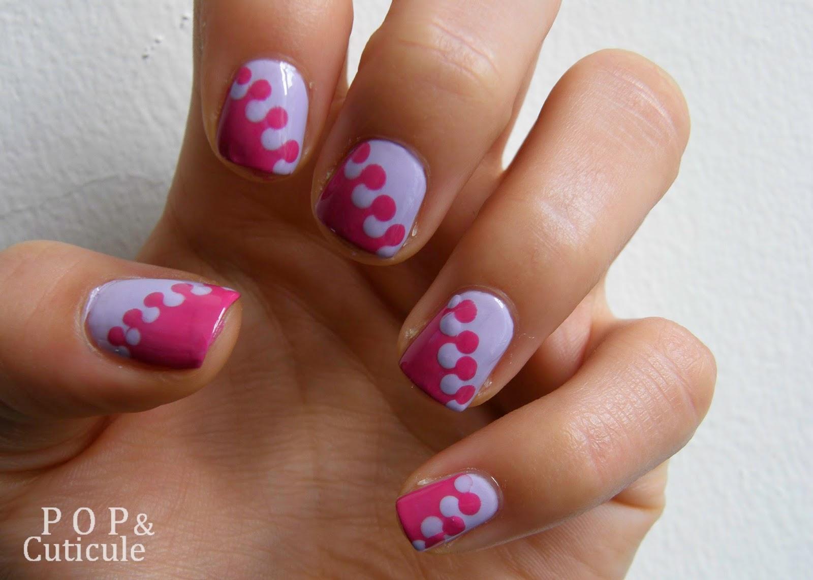 Pop & Cuticule nail art manucure puzzle