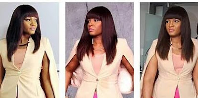 SEE OMOTOLA'S FRINGED HAIR TO RING THE CLOSING BELL..