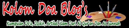 Kumpulan doa-doa dari Al quran dan sunnah