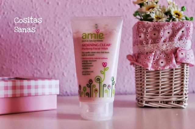 limpiador amie, cosmetica natural, cosmetica ecologica