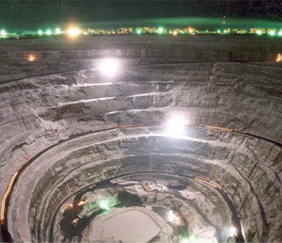mirny 2 mirny diamond mine