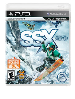 SSX Boxart Revealed PS3