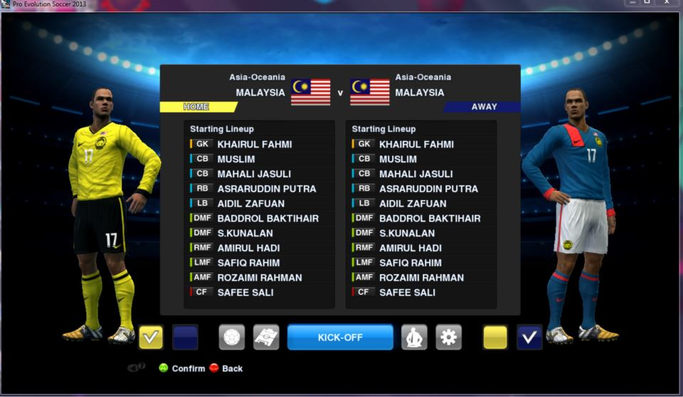 Download PES 2012 Malaysia Patch PC by Adam15