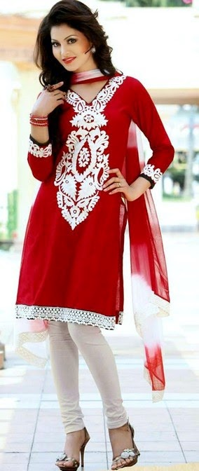 Utsav Fashion Embroidered Salwar Kameez