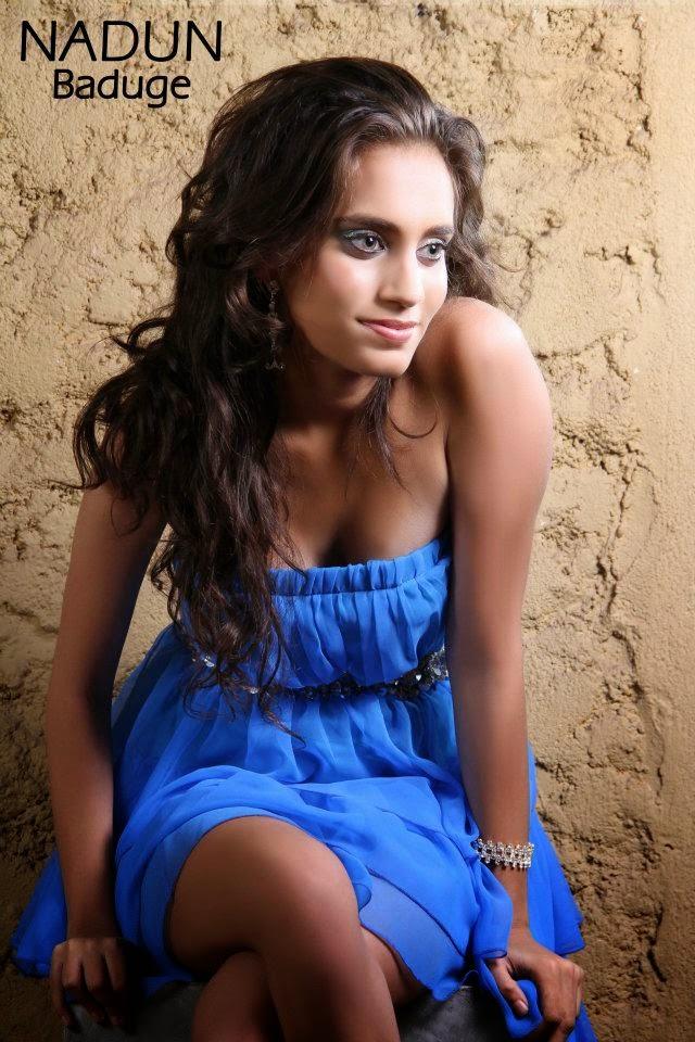 Radhya Senanayake blue legs