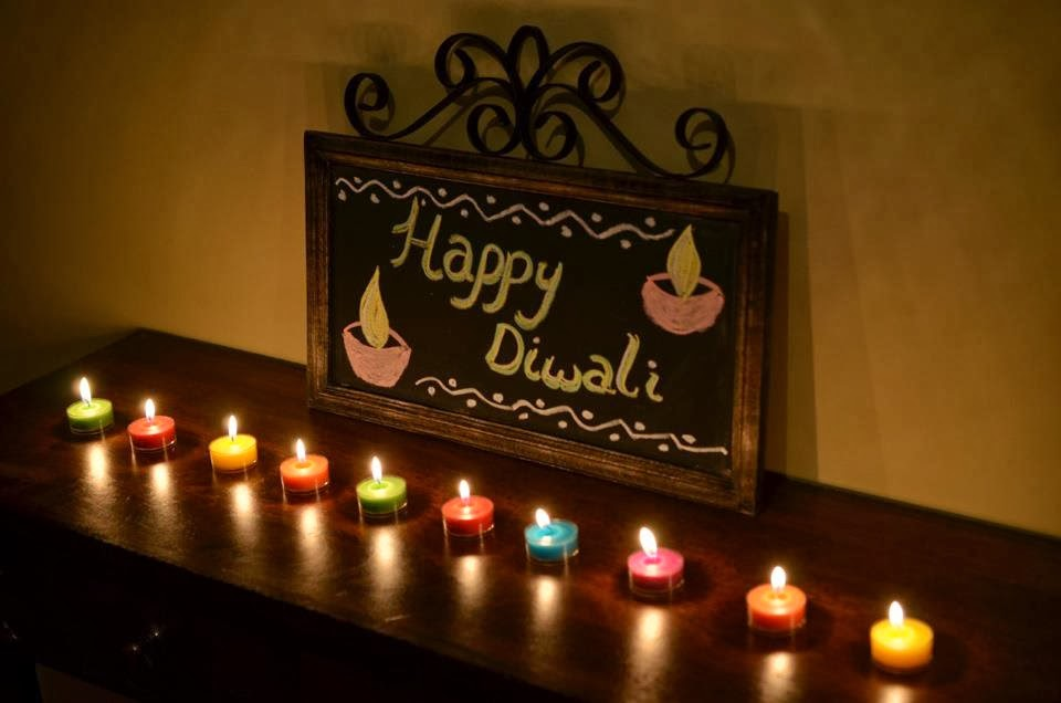 Aalayam colors cuisines and cultures inspired diwali for Simple diwali home decorations