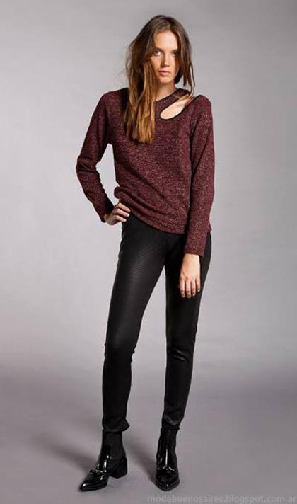 Sweater otoño invierno 2014. La Cofradia otoño invierno 2014.