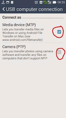 Solusi Android Yang Tidak Terbaca di Komputer