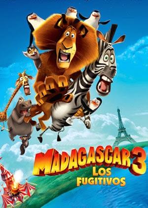 Madagascar 3: Los Fugitivos (2012)