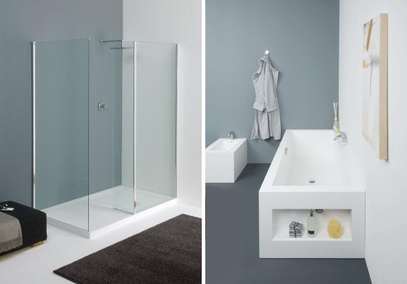 Magnificent 80 Tile Less Bathrooms Design Decoration Of