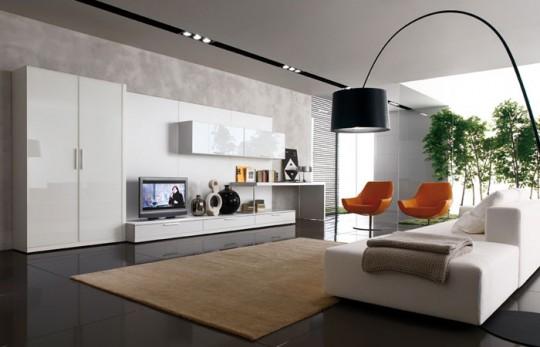 Salas de estilo minimalista colores en casa for Piani di casa minimalista