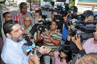 Marcos Martínez se presenta a la fiscalía
