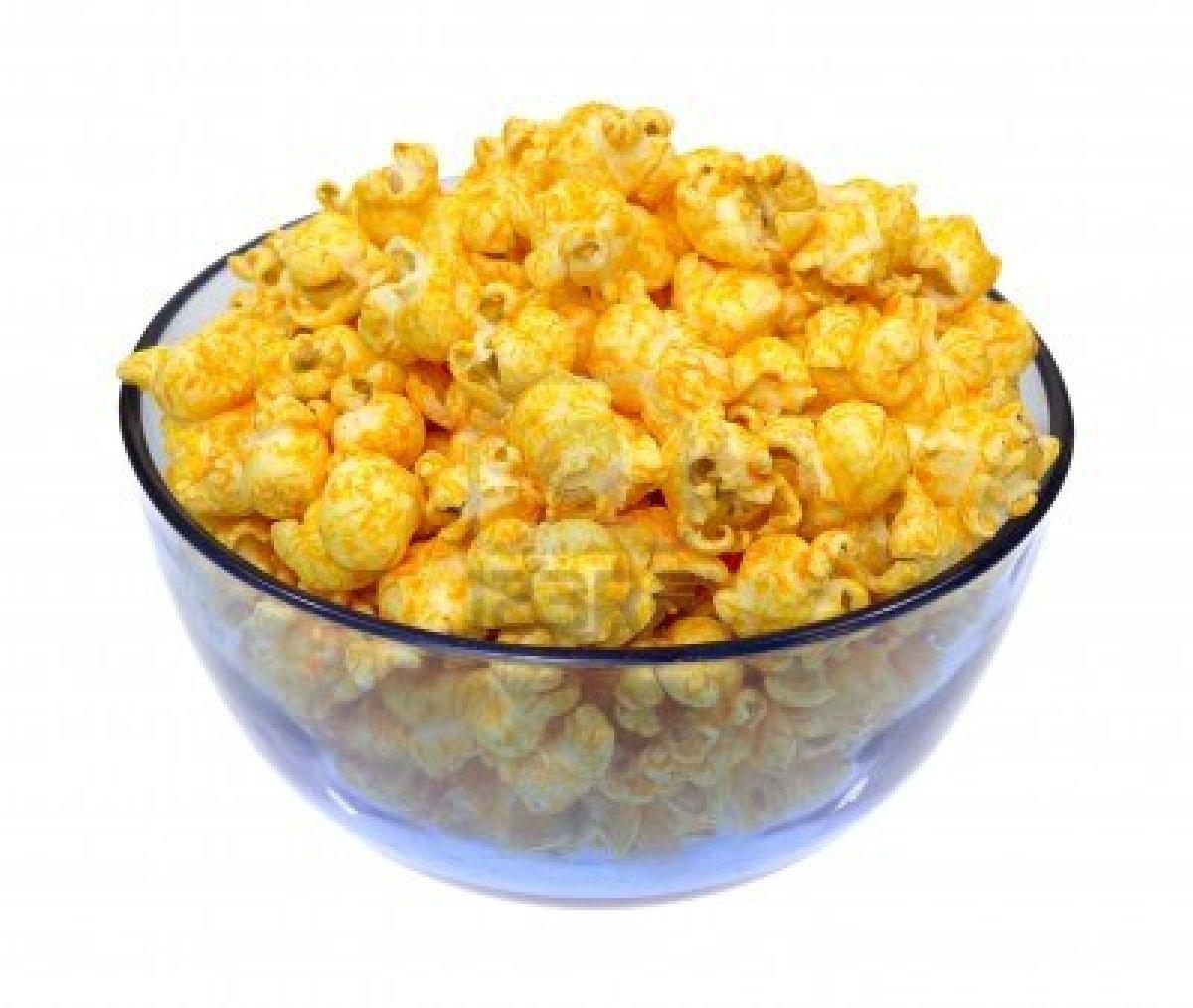 Pop corn al formaggio fatti in casa