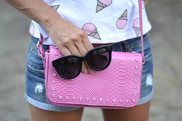 borsa rosa caleidos
