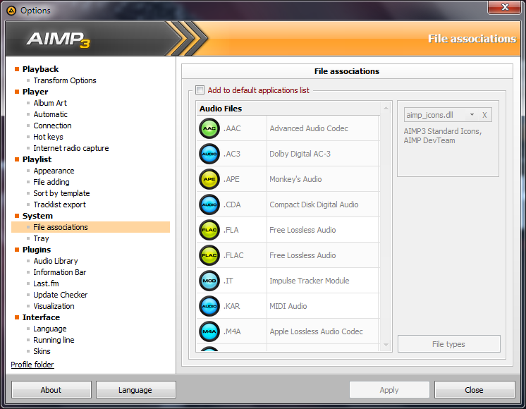 AIMP 3.60 Build 1483 Terbaru 27 Februari 2015