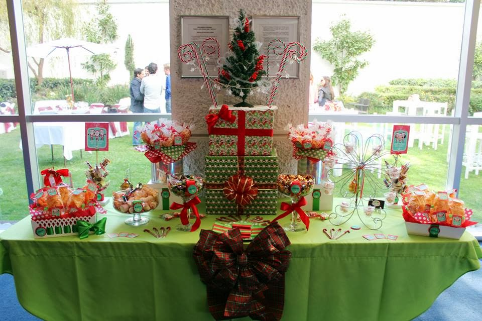 Dulces y eventos mesa de dulces navide a - Mesa navidena ...