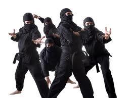 La mas divertida pelea de Ninjas de todos los tiempos