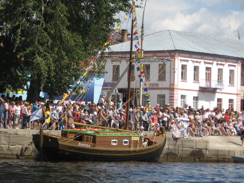 Устье — лодочная столица Вологодчины