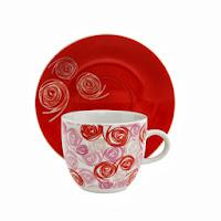 Xícara de Chá em Porcelana