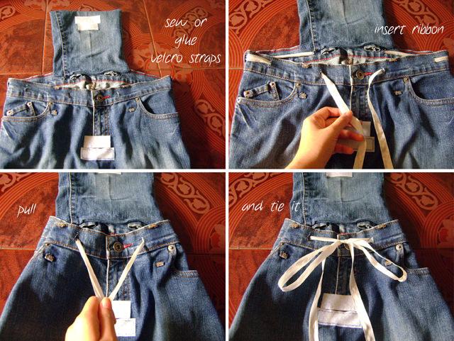 Hacer una Mochila de pantalones vaqueros | Manualidades ...
