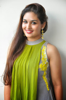 Actress Prayaga Martin Latest Picture Gallery at Pisachi Movie Success Meet 020.JPG