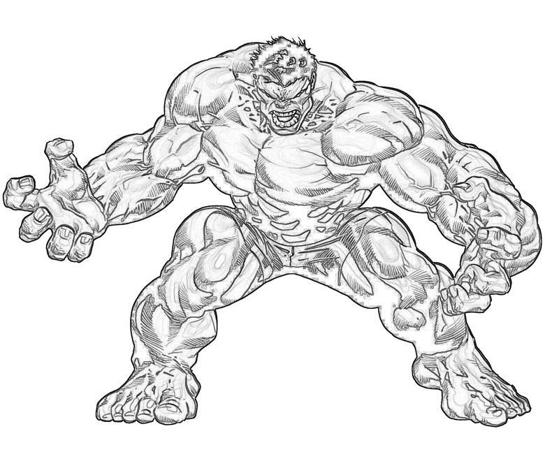 lego red hulk coloring pages - photo #36