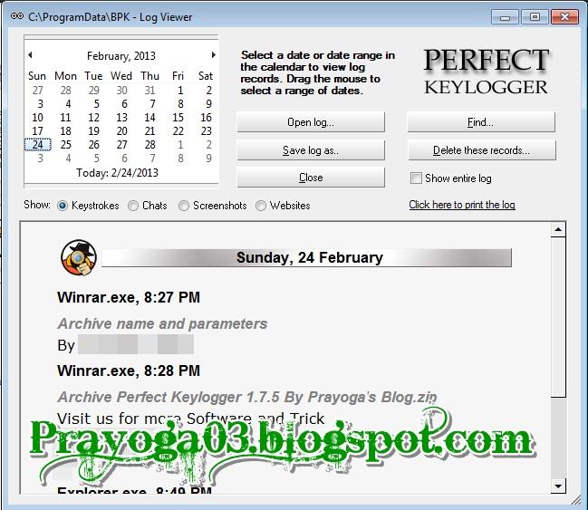 Perfect Keylogger 1 7 5 Full Serial Prayoga S Blog