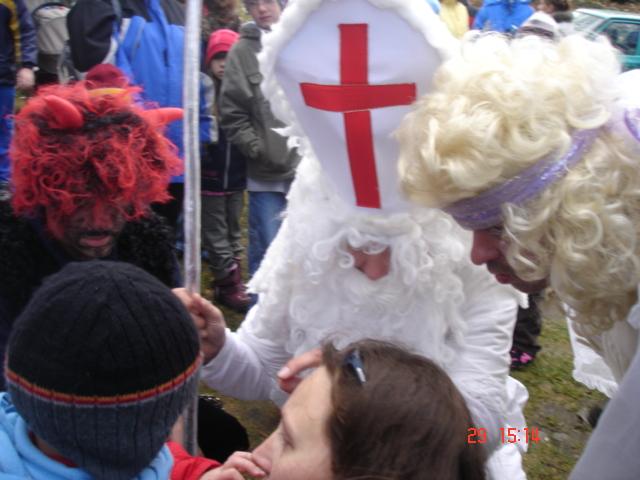 Advent na Krásné 29. 11. 2009 - mikulášská nadílka
