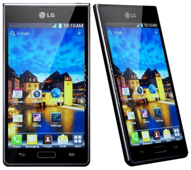 imagens do celular lg optimus l7 - Celular Desbloqueado LG Optimus L7 Preto com Tela de 4 3