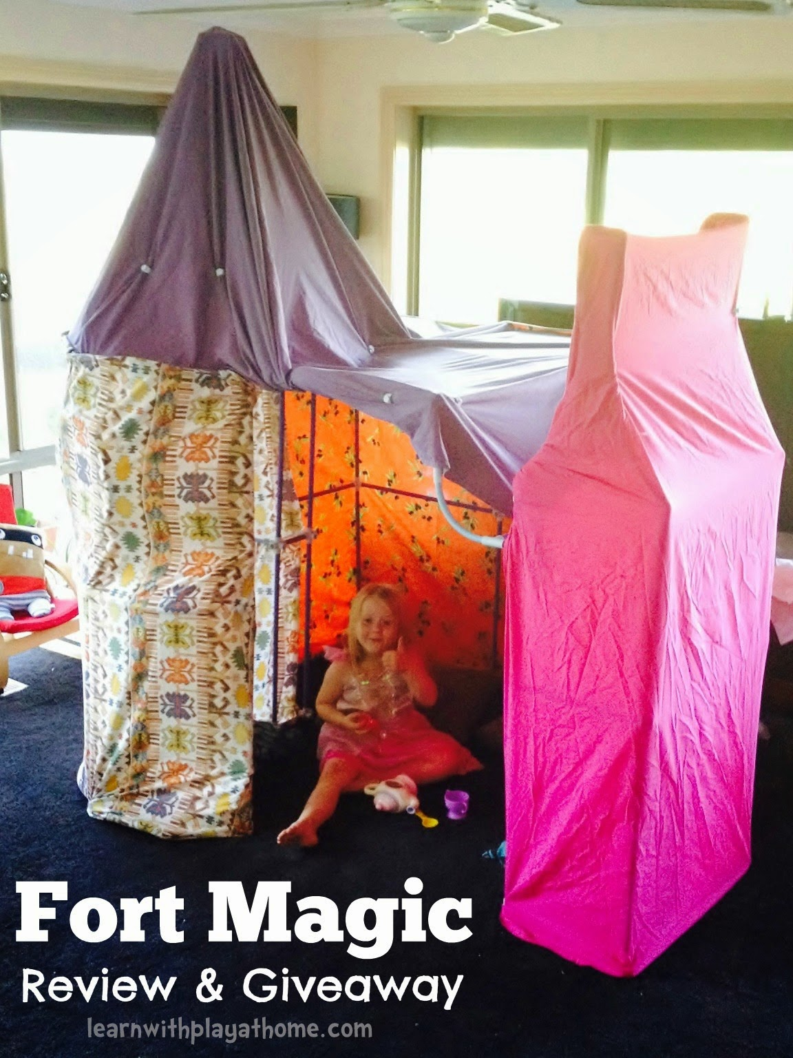 Apr 7 2014 & Learn with Play at Home: Fort Magic Kit Review and Giveaway