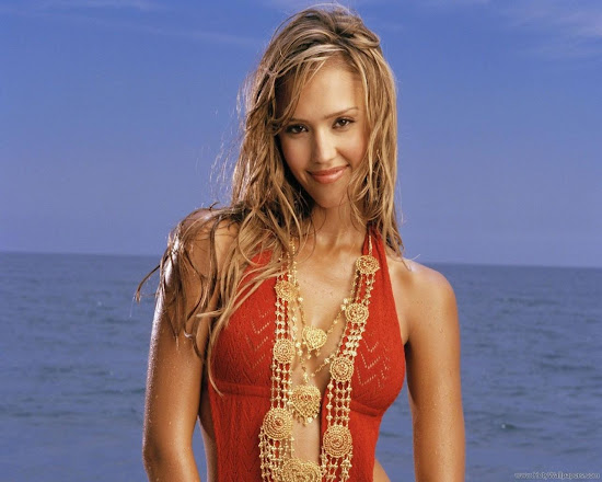 Spicy Jessica Alba Wallpaper