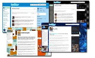 Cara mengubah background/theme Twitter agar lebih cantik dan menar,tema twitter background gambar
