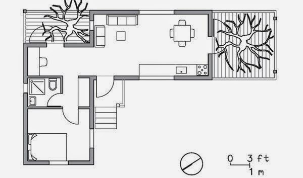 It catches my eye living in a container home for Shipping container cabin floor plans