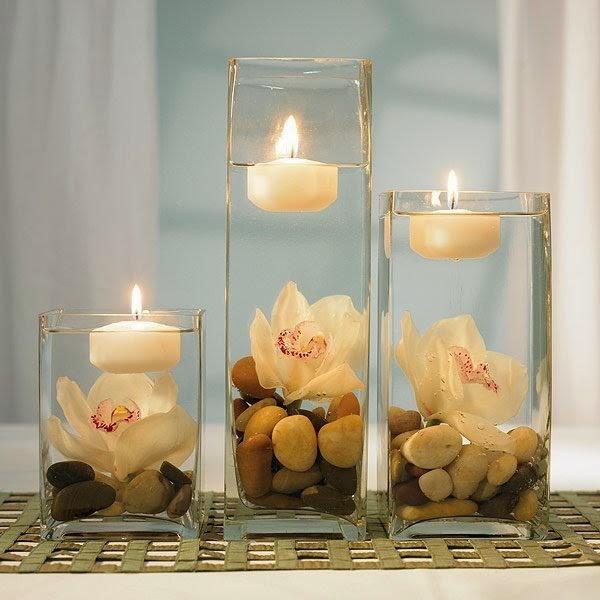 decoracin las velas como
