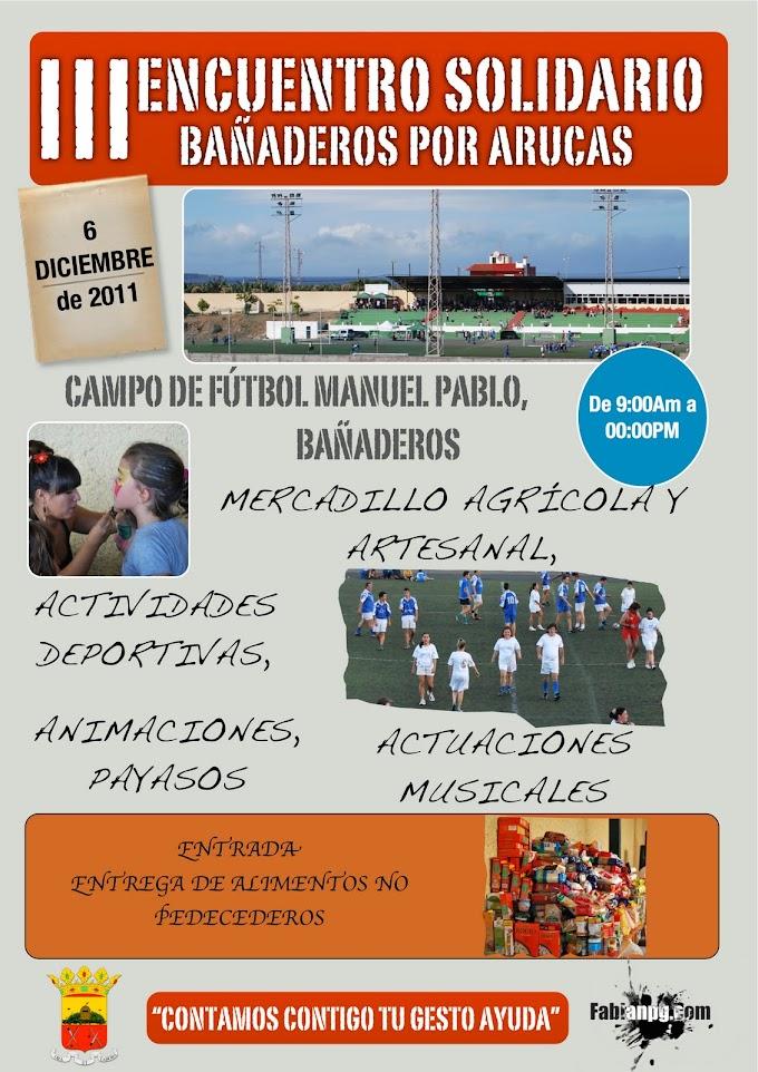 III Encuentro Solidario Bañaderos por Arucas