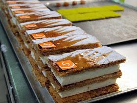 Millefeuilles - Pâtisserie Sébastien Dégardin