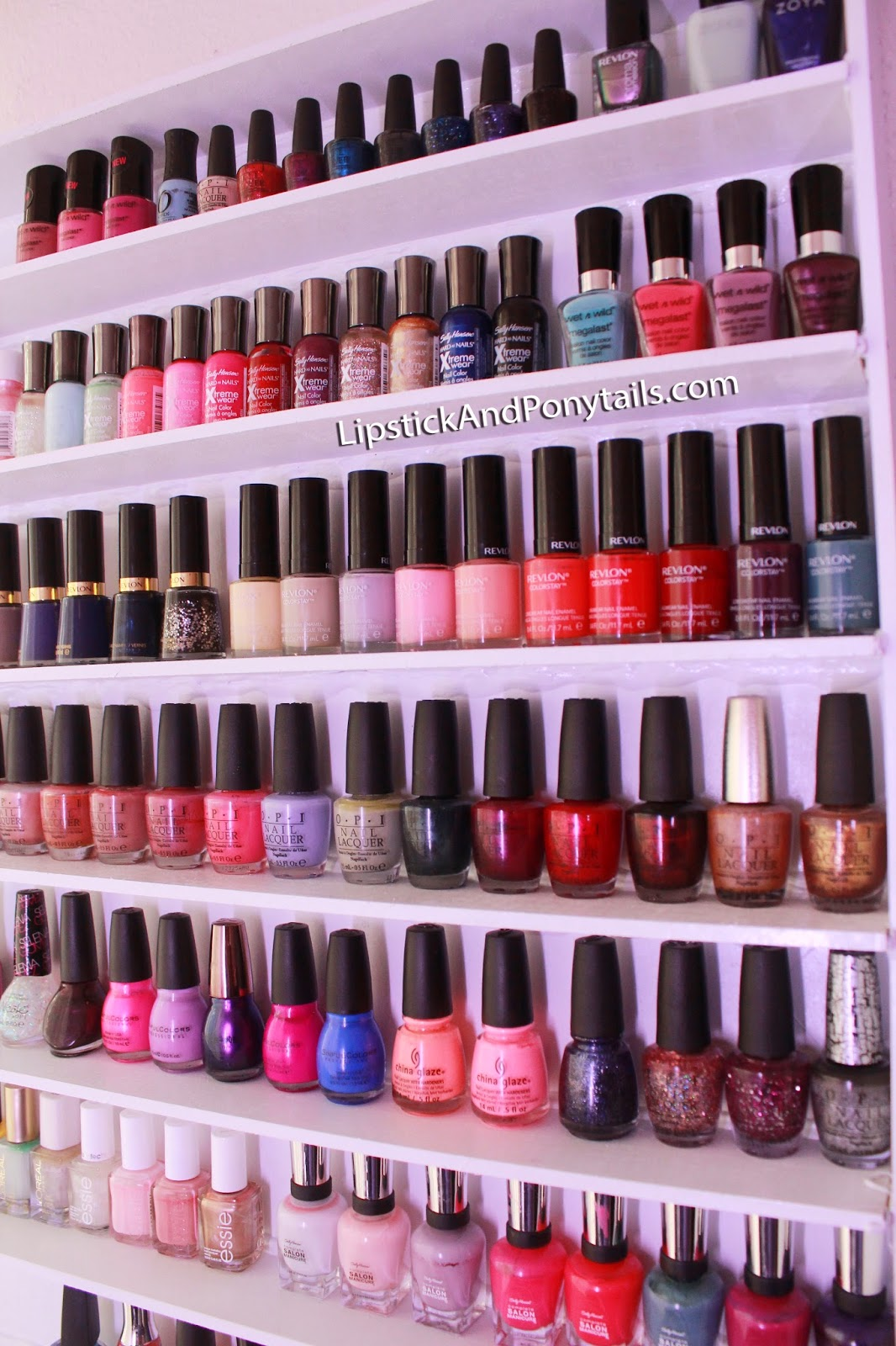 Pdf diy diy wood nail polish rack download diy wood for Diy shoes with nail polish