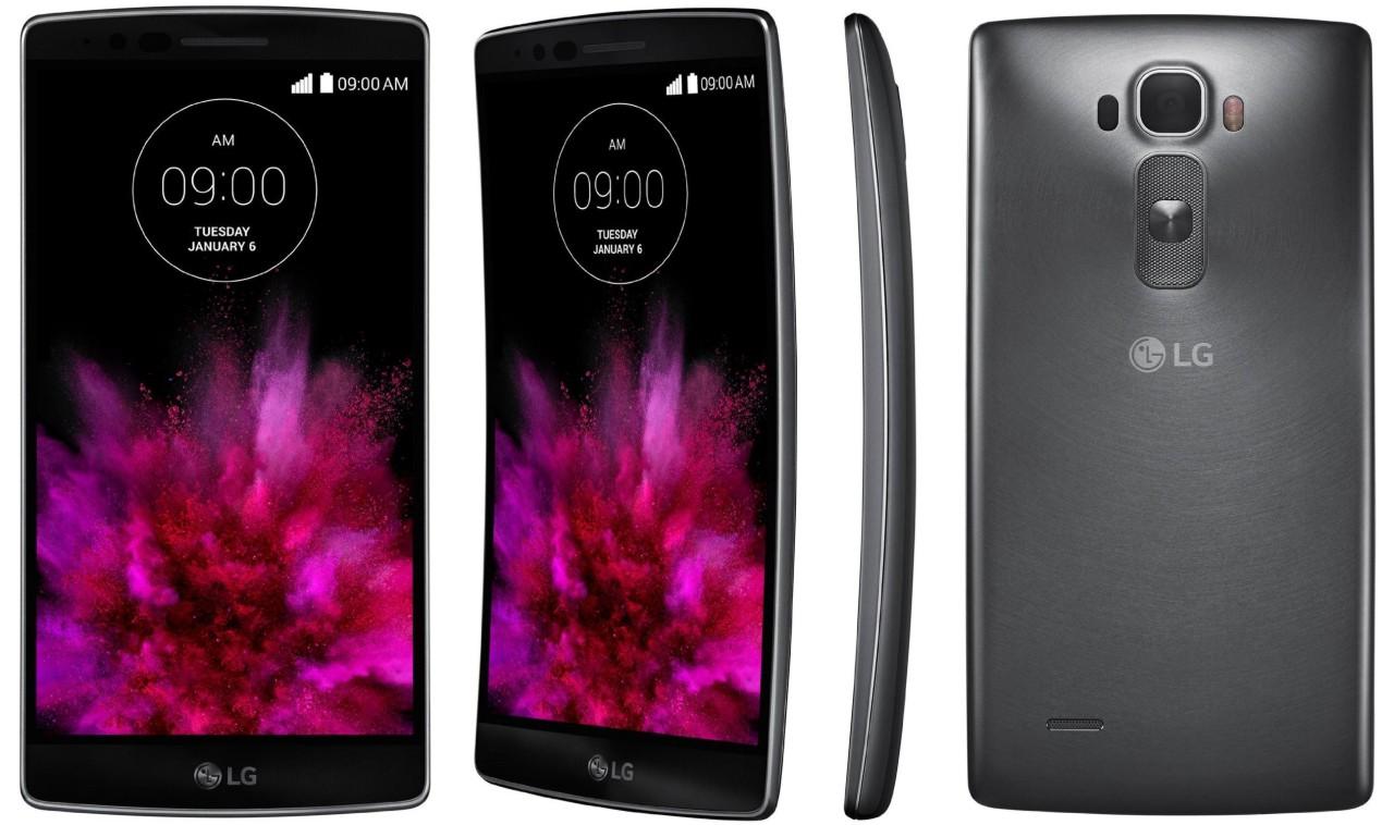 Tampilan Depan Belakang Samping LG G Flex 2