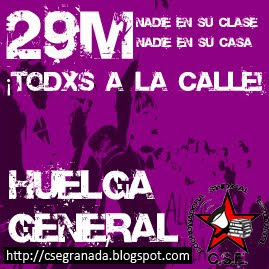 29 de Marzo-¡¡¡Todxs a la Huelga!!!