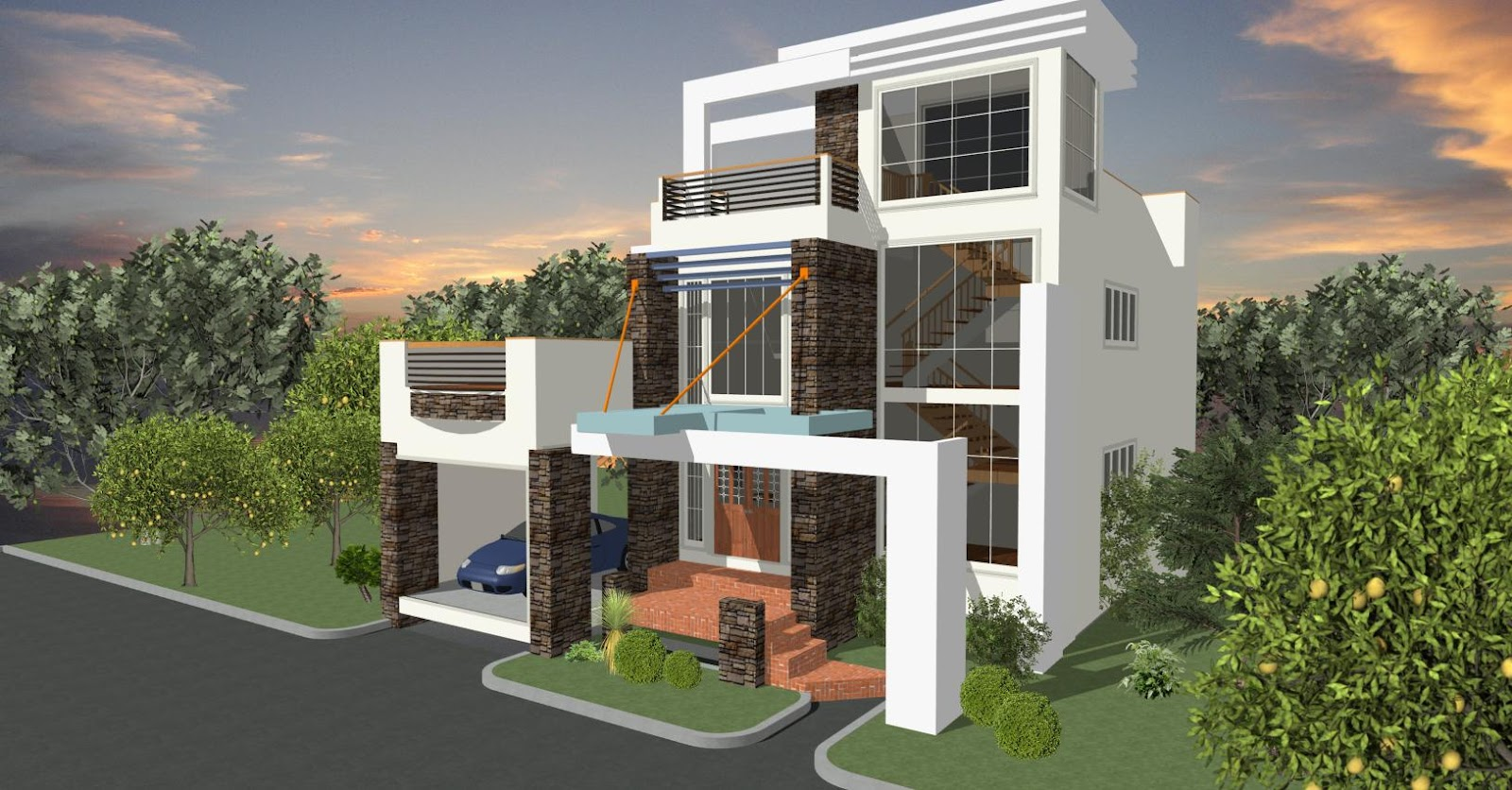 House designs in the philippines in iloilo by erecre group for Model house design 2016