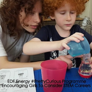 Why girls should consider STEM subjects at GCSE and beyond...with EDF Energy and Britmums.