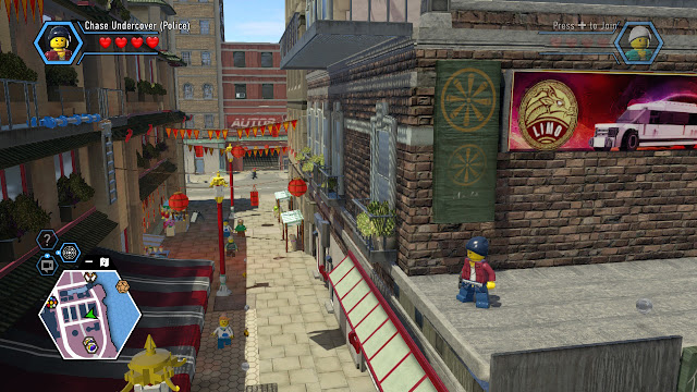 Lego city undercover the chase begins map