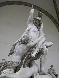 El rapto de Proserpina.
