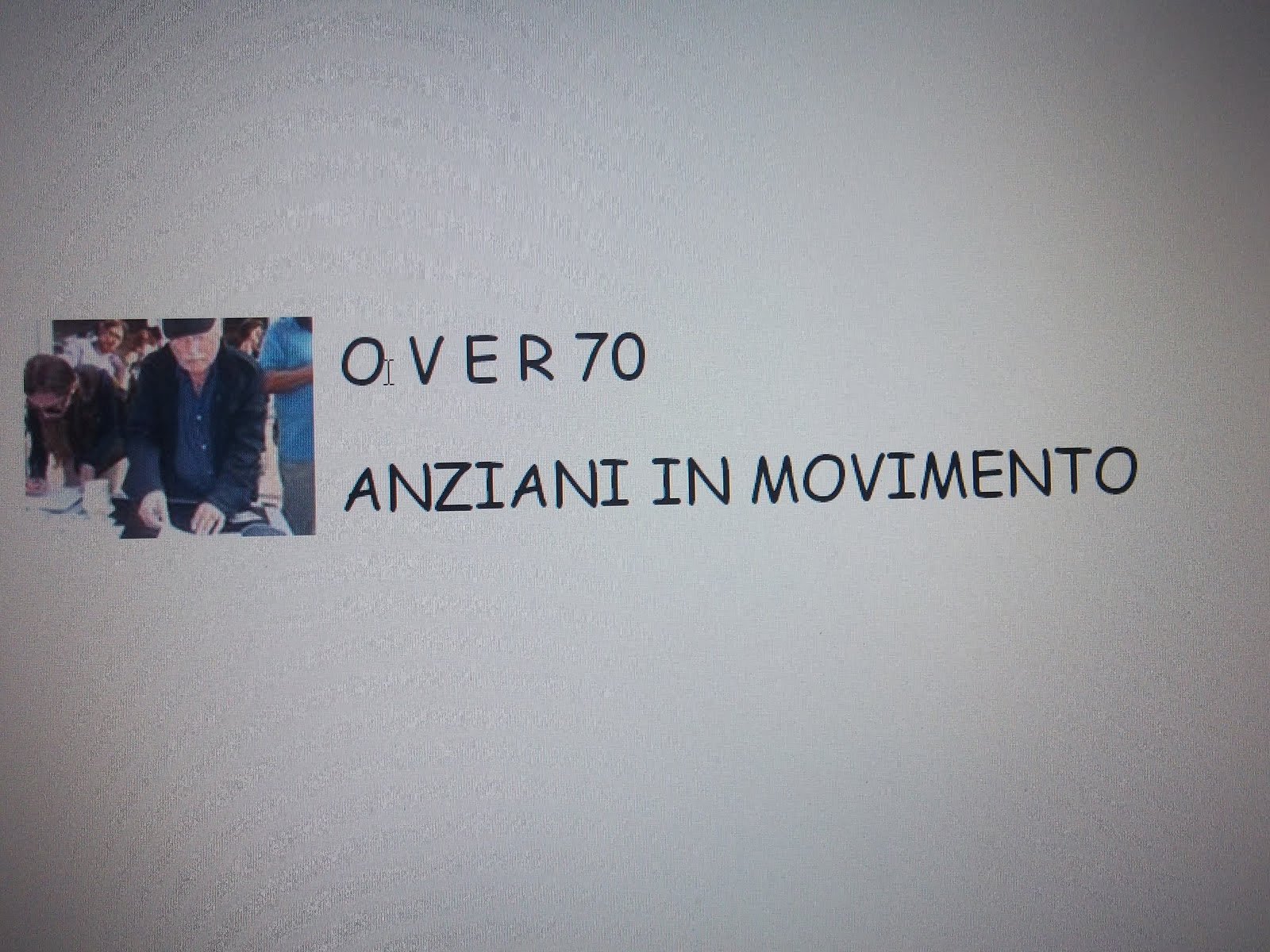 COMITATO OVER 70