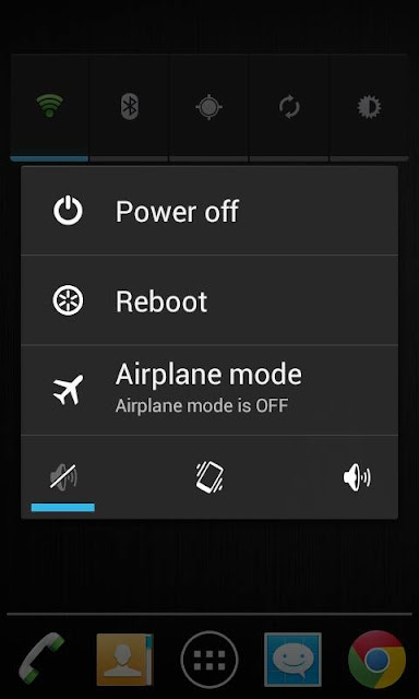 Turn off vibration and sound to reduce Android battery consumption