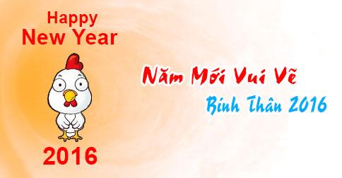 Ảnh chúc năm mới vui vẻ dễ thương nhất 2016 - ảnh 1