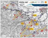 Harta Raliul Sibiului 2013