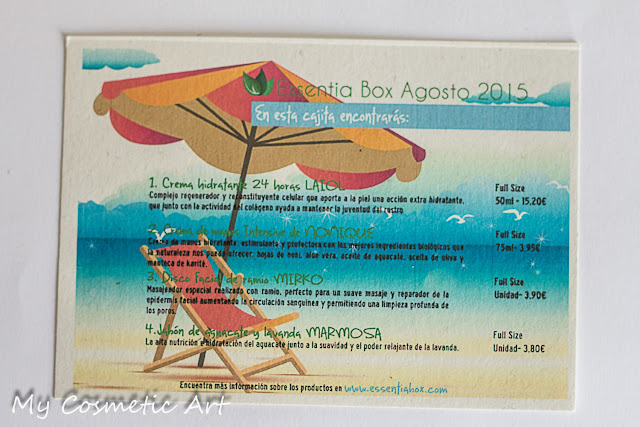 Essentia Box de Agosto de 2015