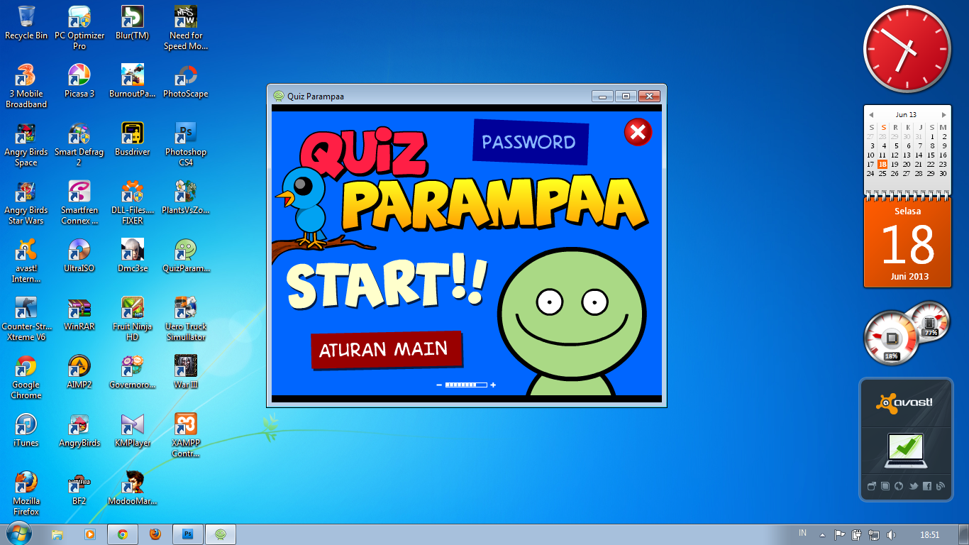 Free Download Game Quiz Parampaa Offline