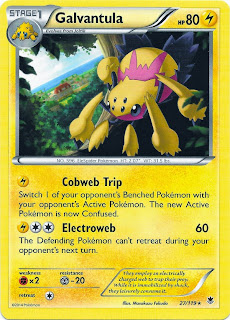 Galvantula Phantom Forces Pokemon Card